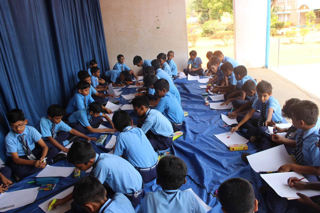 Fire Safety Drawing Competition 2019-20 - Airforce School Yelahanka