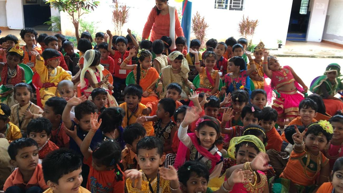 Sri Krishna Janmastami Celebration 2019 - 20 - Airforce School Yelahanka